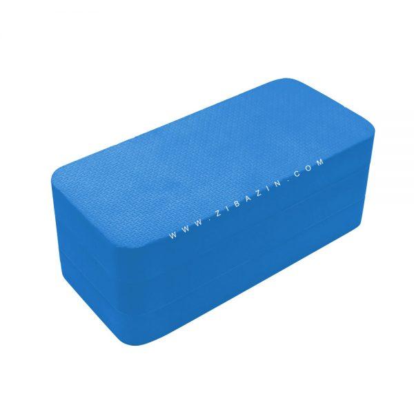 آجر تک رنگ فومی یوگا : آبی