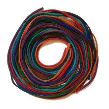 پکیج بند آویز چرمی هفت رنگ