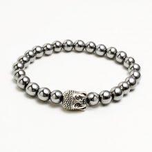 دستبند سنگ حدید طرح : بودا
