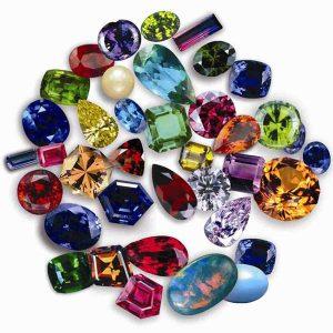 تاثیر رنگ سنگ ها و جواهرات بر خواص درمانی آن ها