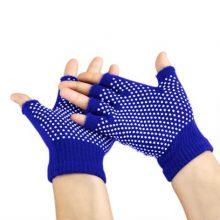 دستکش ضد لغزش یوگا و پیلاتس : آبی