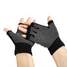 دستکش ضد لغزش یوگا و پیلاتس : مشکی
