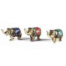جاعودی دستساز برنجی طرح : فیل