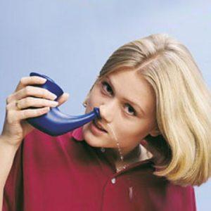 آموزش استفاده از قوری نتی ( نتی پات) برای پاکسازی مجاری تنفسی