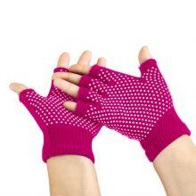 دستکش ضد لغزش یوگا و پیلاتس : سرخآبی