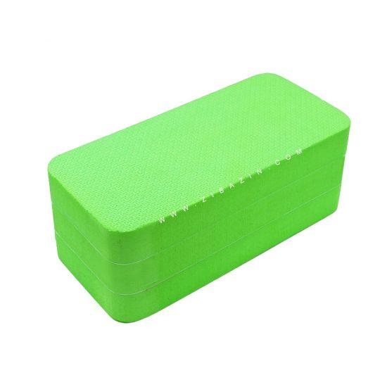آجر تک رنگ فومی یوگا : سبز