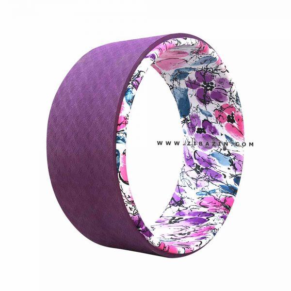 يوگا ويل (چرخ يوگا) طرحدار : کد 3