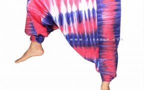 شلوار هیپی یوگا فاق بلند : آبرنگی کد 2