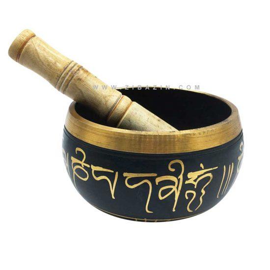 کاسه تبتی (مرتعش) دستساز هندی : طرحدار