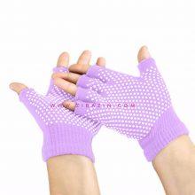 دستکش ضد لغزش یوگا و پیلاتس : یاسی