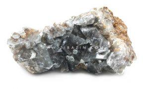 سنگ راف کریستال کوارتز دودی کد : 1