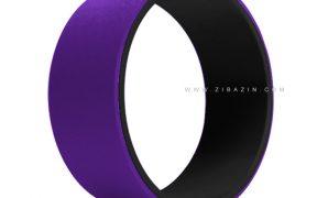 یوگا ویل (چرخ یوگا) : مشکی بنفش