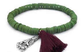 دستبند سیلیکونی حلقه ای : کد ۳