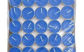 شمع وارمر ساده 100 تایی 4 ساعته : آبی