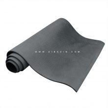مت یوگا (EVA) دولایه : خاکستری مشکی + کاور رایگان