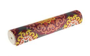 مت یوگا و پیلاتس PVC طرحدار ۵ میل + کاور رایگان : کد ۲
