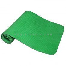 مت یوگا و پیلاتس (TPE) فوق سبک یک لایه ۸ میل : سبز