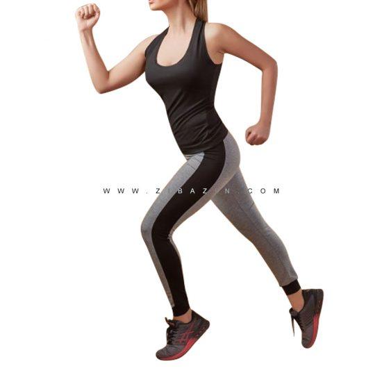 ست دو تیکه تاپ شلوار زنانه ورزشی : کد۲