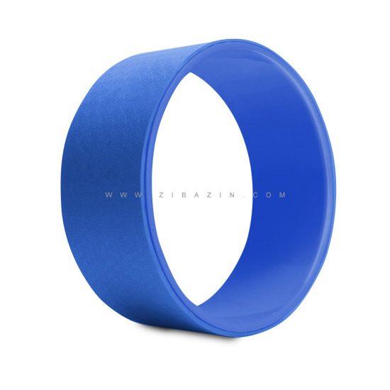 يوگا ويل (چرخ يوگا) طرحدار : آبی