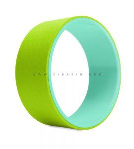 یوگا ویل (چرخ یوگا) : سبز آبی