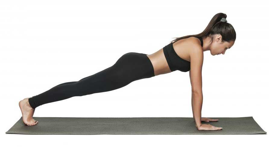 پلانک Plank Pose