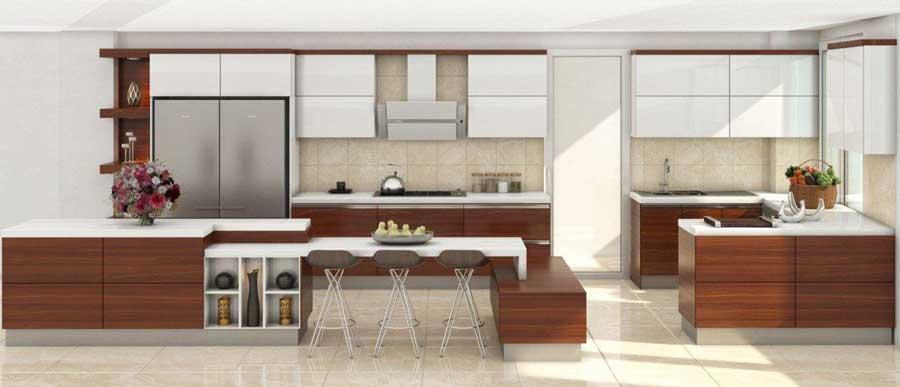 دکوراسیون آشپزخانه شیک و مدرن