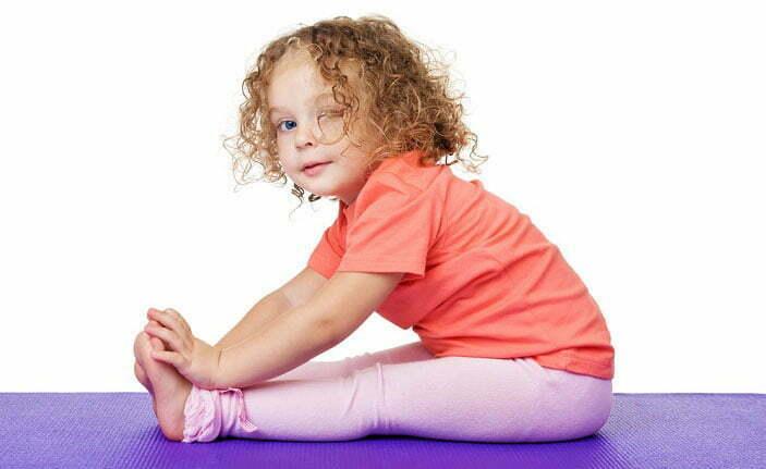 فواید یوگا برای کودکان