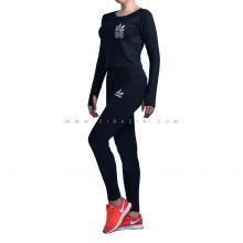 ست دو تیکه پیراهن شلوار زنانه ورزشی : کد ۶