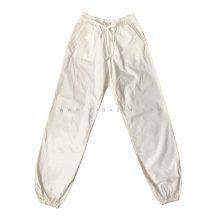 شلوار نخی مردانه جیب دار : سفید