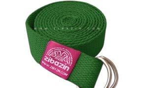 کمربند نخی مخصوص یوگا : سبز چمنی