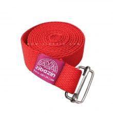 کمربند نخی مخصوص یوگا تک حلقه : قرمز