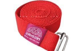کمربند نخی مخصوص يوگا تک حلقه : قرمز