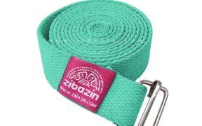 کمربند نخی مخصوص یوگا تک حلقه : سبزآبی