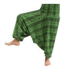 شلوار هیپی یوگا هندی فاق بلند طرح OM کد 3