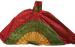 شلوار هیپی یوگا هندی فاق بلند طرح ماندالا کد 3