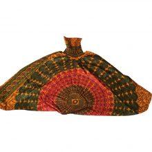 شلوار هیپی یوگا هندی فاق بلند طرح ماندالا کد 2
