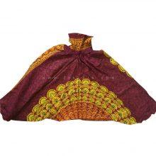شلوار هیپی یوگا هندی فاق بلند طرح ماندالا کد 1