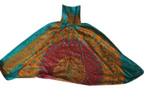 شلوار هیپی یوگا هندی فاق بلند طرح ماندالا کد 7