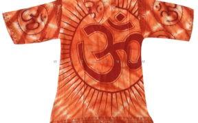 تیشرت نخی هندی Tie Diy طرح OM کد6