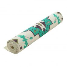 مت یوگا و پیلاتس PVC طرحدار 6 میل + کاور رایگان : کد ۱