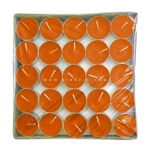 شمع وارمر ساده 50 تایی 4 ساعته : نارنجی