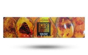 عود دستساز کهربا (Amber wood) برند مصباح : ۵۰ گرمی