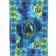 دیوار آویز (بکدراپ) و روتختی تکنفره طرح بودا : کد 118
