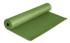 مت یوگا و پیلاتس (PVC) یک لایه ۸ میل : سبز