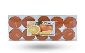 شمع وارمر معطر ۱۰ تایی اسانس : Orange