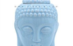 اسانس سوز سرامیکی طرح بودا : آبی آسمانی
