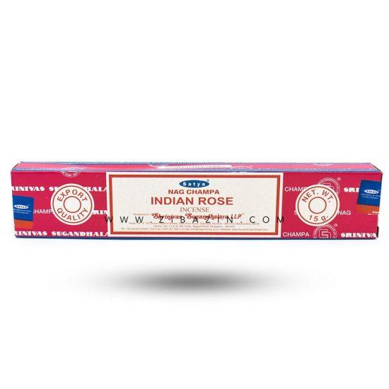 عود دست ساز رز هندی (Indian rose) برند ساتیا : ۲۰ گرم