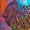 دیوار آویز (بکدراپ) کوچک طرح فیل : کد ۳۱۵
