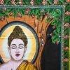 دیوار آویز (بکدراپ) کوچک طرح بودا : کد ۳۱۸