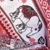 شلوار هیپی یوگا هندی فاق بلند طرح فیل : کد ۳